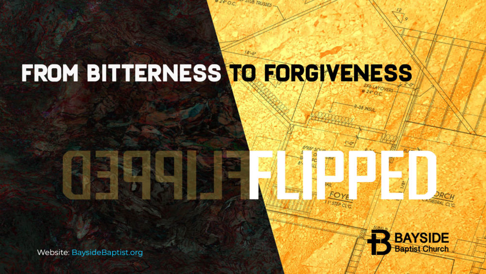 From Bitterness to Forgiveness Image