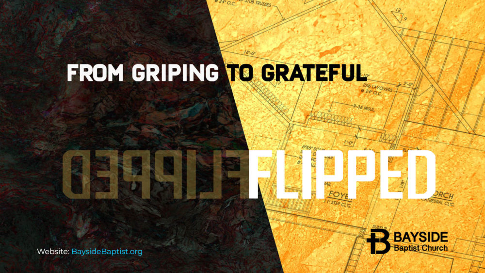 From Griping to Grateful Image